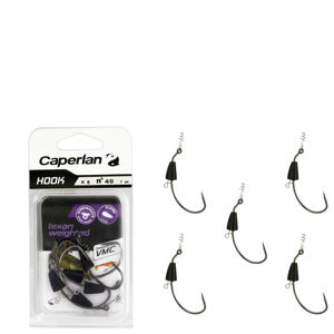 CAPERLAN Hook Texan Weighted 4/0